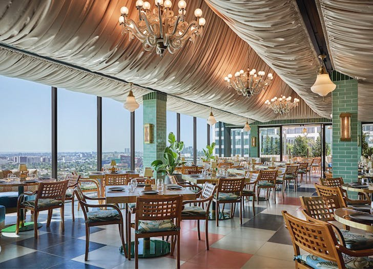 Best rooftop restaurants in la Merois