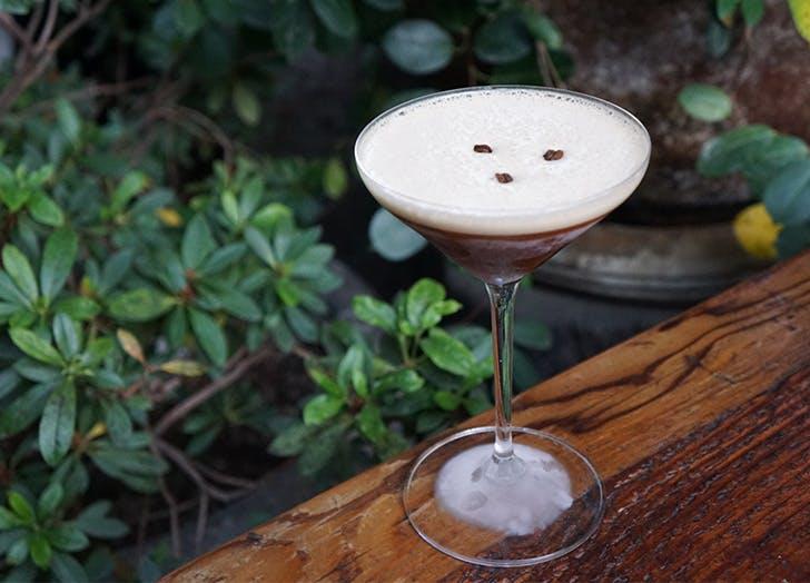 Coffee Cocktails in LA Fia