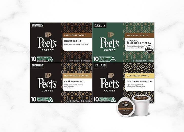 best k cup coffee peets