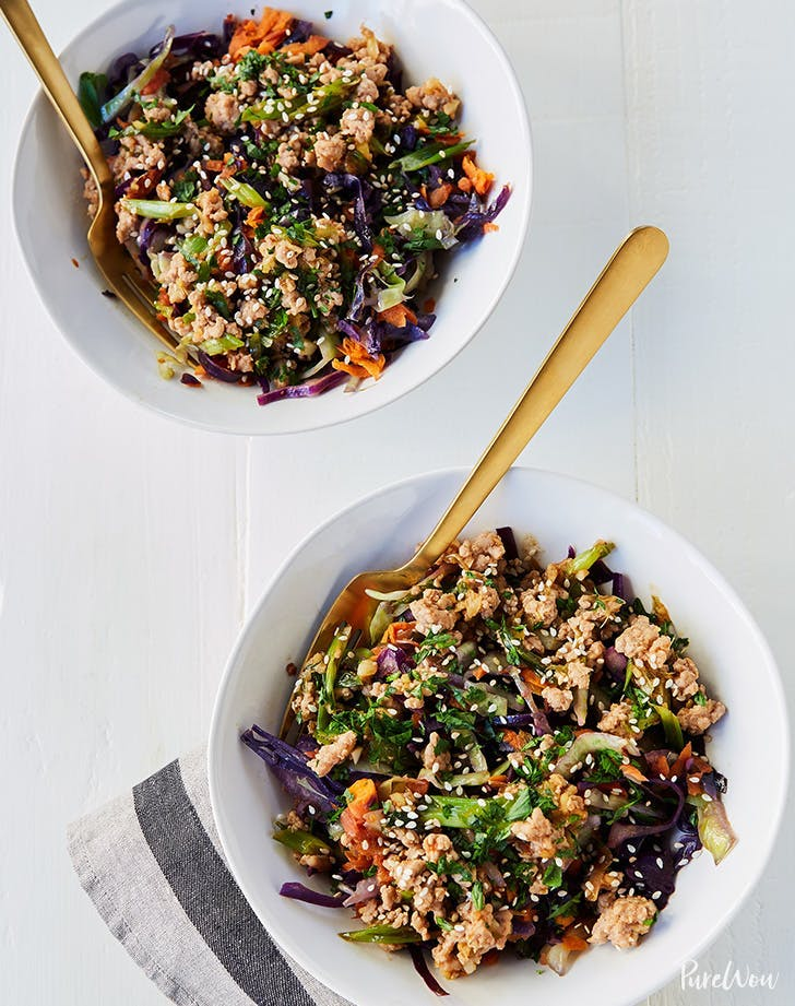 high protein lunches paleo egg roll in a bowl recipe