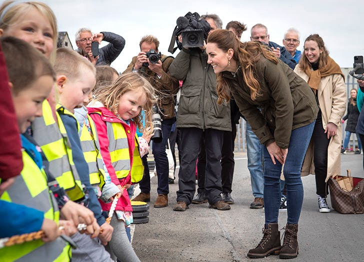 kate middleton go to parenting move