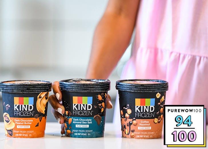 kind frozen pint vegan ice cream review list