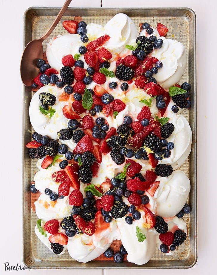 raspberry recipes lemon berry sheet pan trifle recipe 921