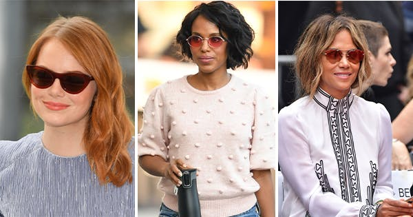 The Best Sunglasses for Your Face Shape, According to Our Favorite Celebs