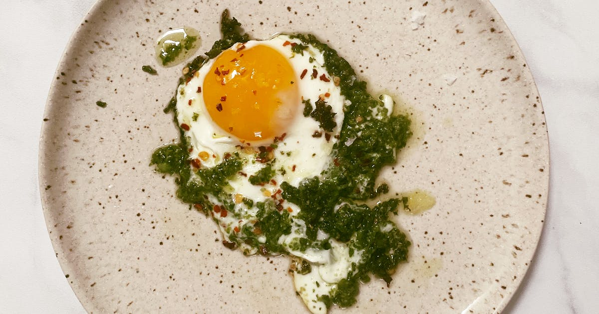 Pesto Eggs Are the Latest Trendy TikTok Recipe. We Tried Them—Here's What We Thought