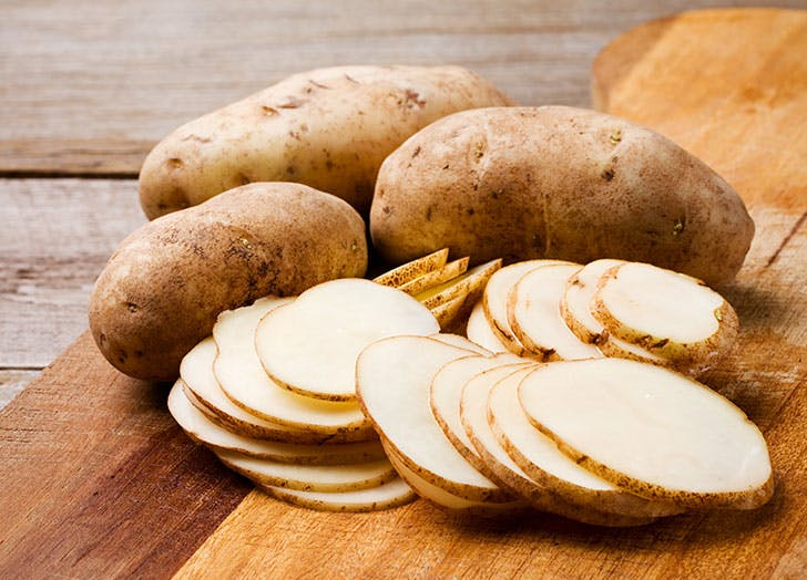 types of potatoes russet