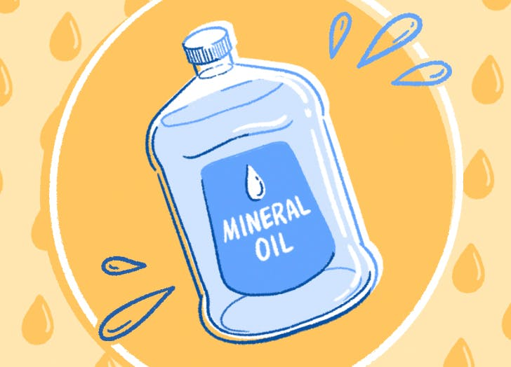 uses for mineral oil cat