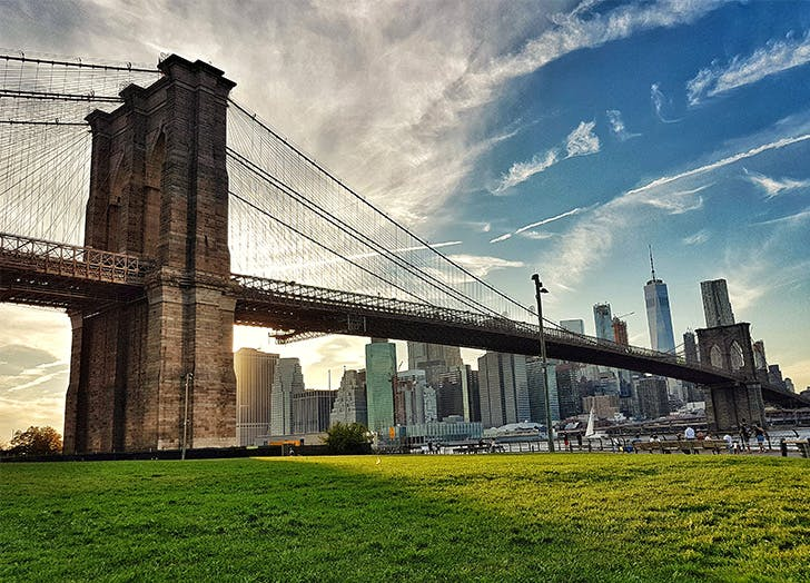 Best Places to Watch Fireworks in NYC Brooklyn Bridge Park