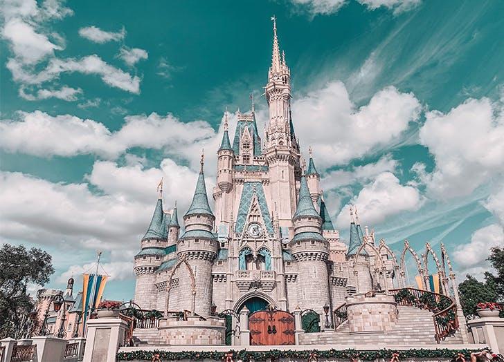 Disney World is Open castle