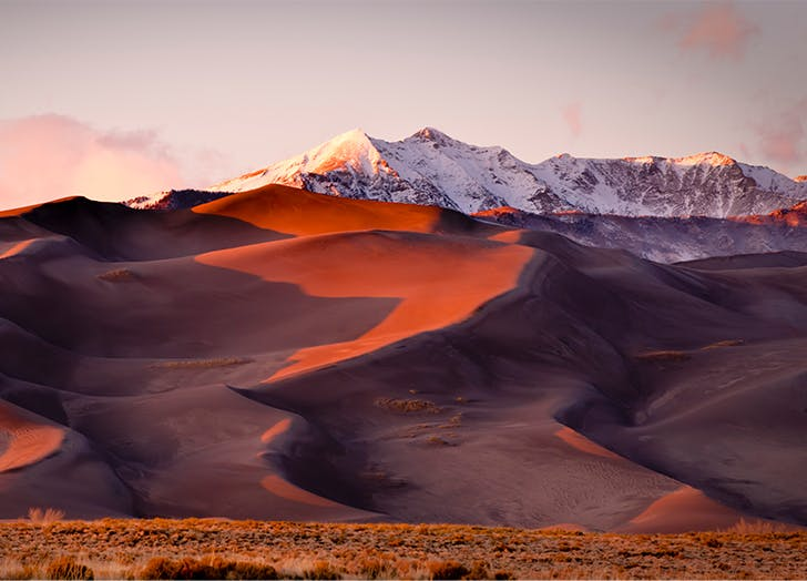 Most Beautiful Places in Colorado GREAT SAND DUNES NATIONAL PARK