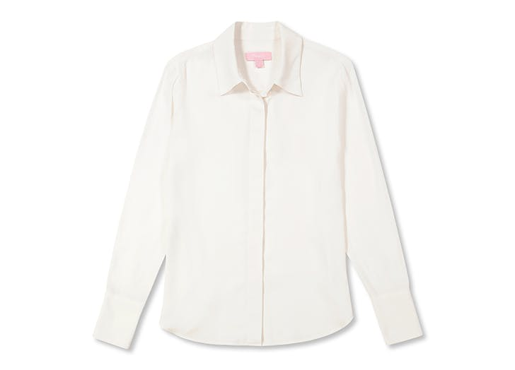 Kelly Ripa Loves This Sweat-Proof Line of Machine Washable Silk Tops