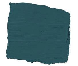 accent wall emerald