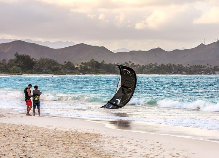 best beach towns in hawaii Kailua