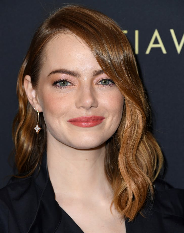 best part for your face shape emma stone7