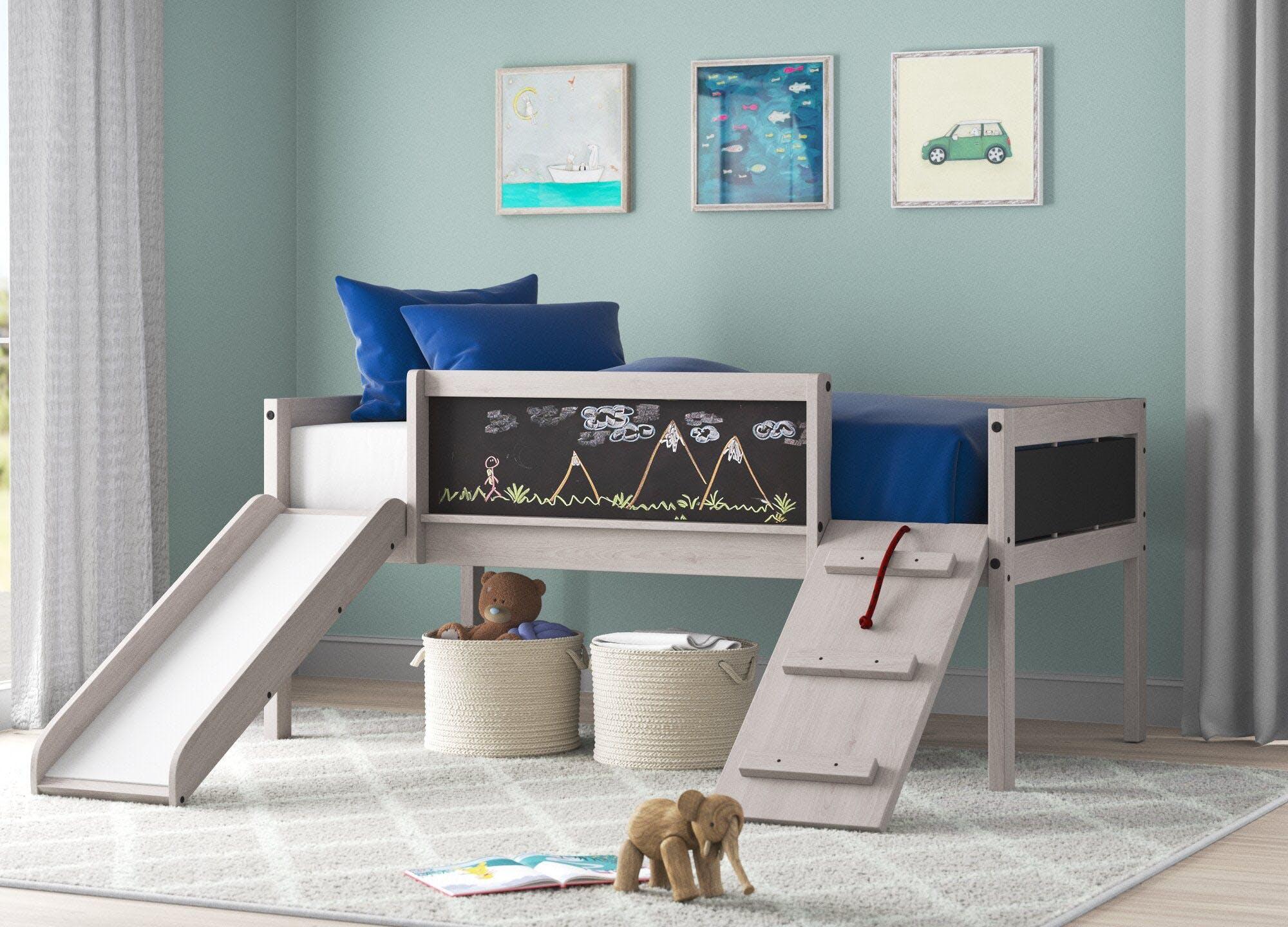 coolest kids beds schmid low loft bed