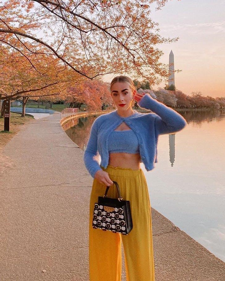 cropped cardigan sets y2k fashion trends