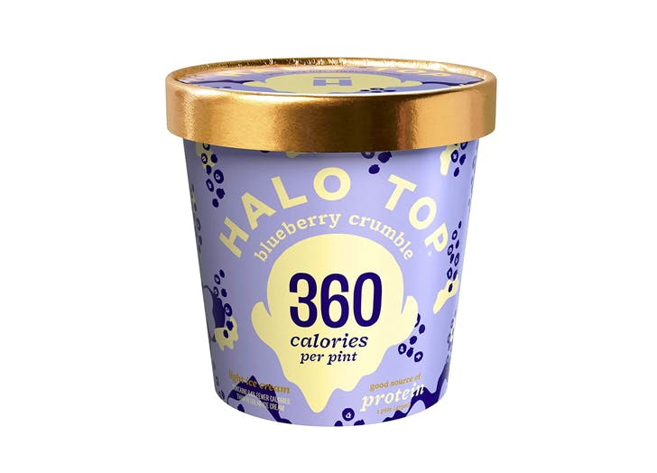 high protein ice cream halo top