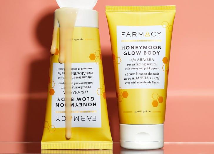 june 2021 beauty launches Farmacy Beauty Honeymoon Body Glow1