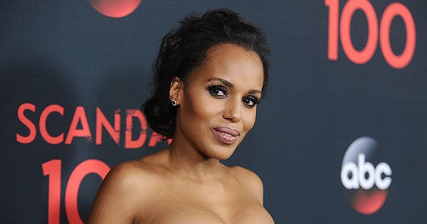 Kerry Washington Stuns in Red Dress in Latest IG Post: 'All Red Everything'