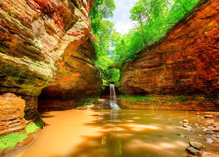 most beautiful places in illinois starved rock state park