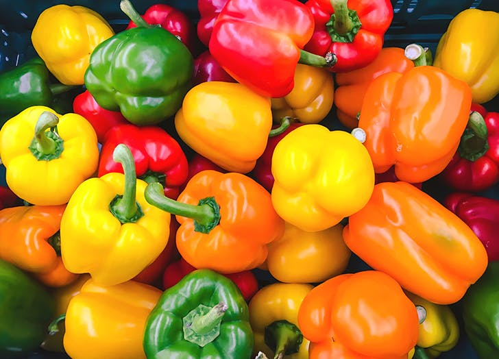 types of peppers bell peppers