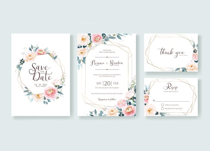 wedding invitation etiquette save the date