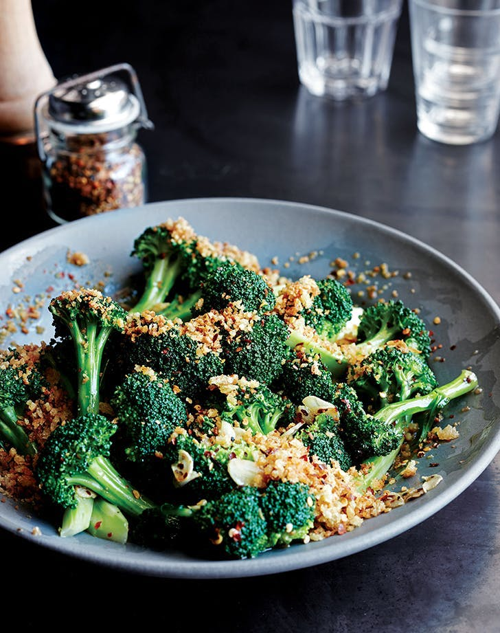 what goes with mac and cheese spicy broccoli saute recipe