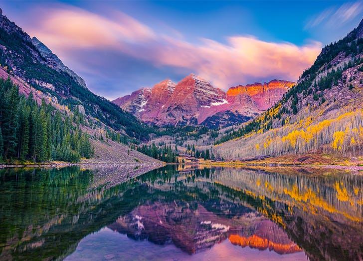 Best Camping in Colorado MAROON BELLS