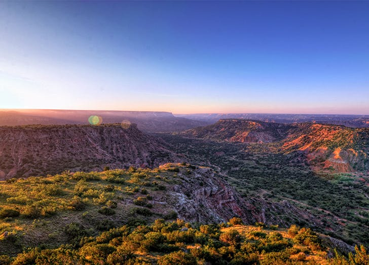 Best Camping in Texas PALO DURO CANYON STATE PARK