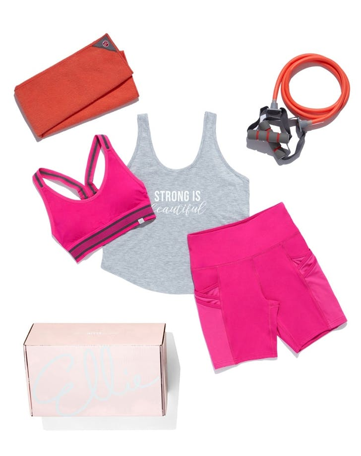 Best Fitness Subscription Boxes Ellie Monthly Activewear Box