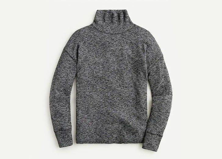 Fall Fashion Sale Items to Buy J. Crew Fine rib Turtleneck