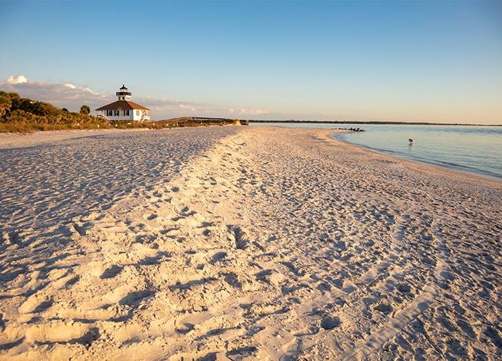 Miami Florida Islands Little Gasparilla Island