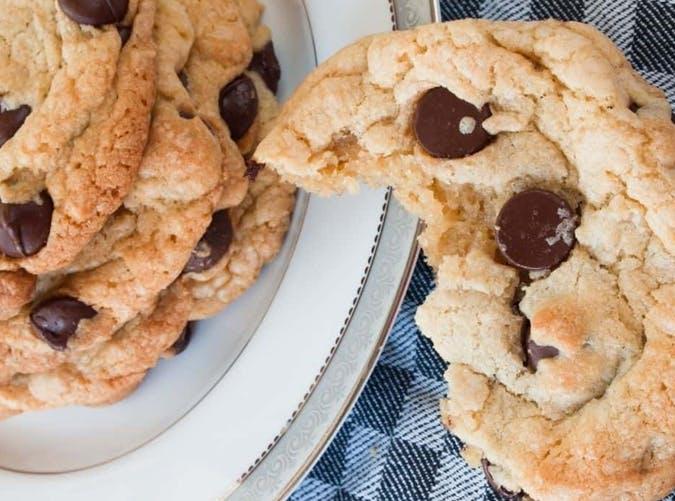 air fryer dessert recipes air fryer chocolate chip cookies recipe