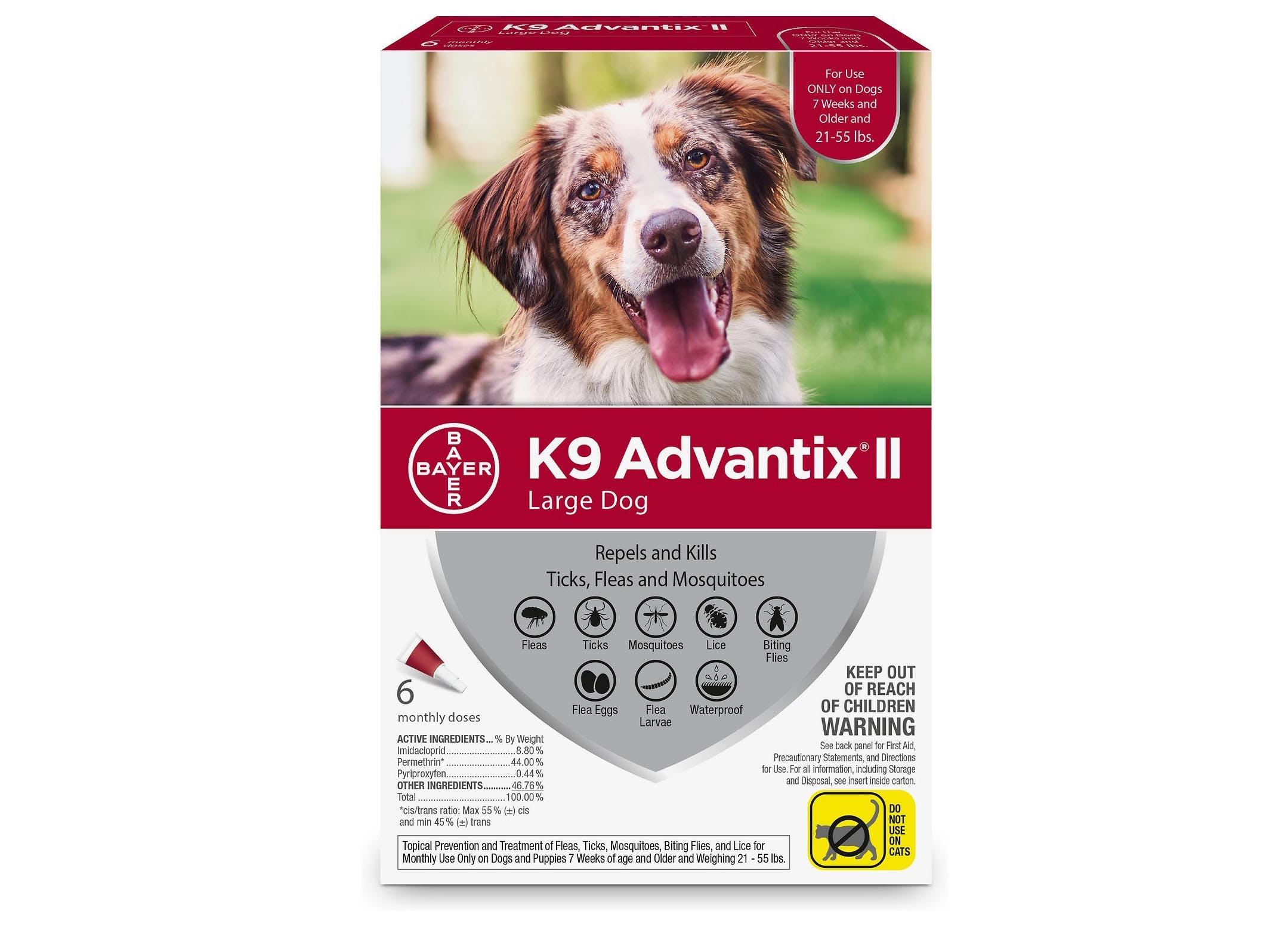 best flea treatments for dogs advantix
