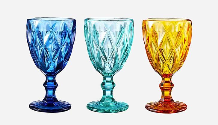 colored glassware   list 1
