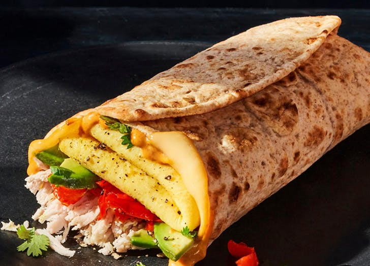 keto at panera chicken avocado egg wrap