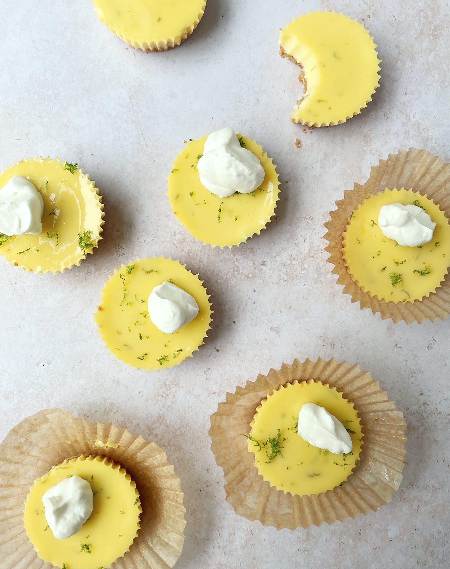 lime desserts mini key lime pies recipe