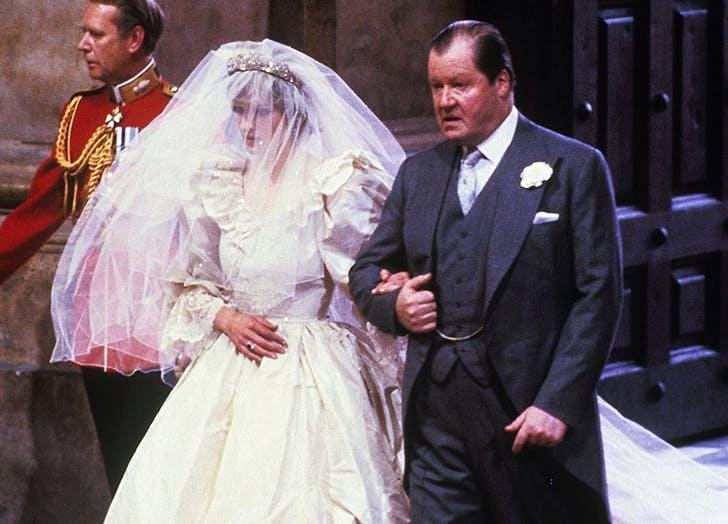 princess diana 8th earl spencer wedding day
