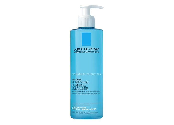 random but useful acne products La Roche Posay Toleriane Purifying Foaming Face Wash