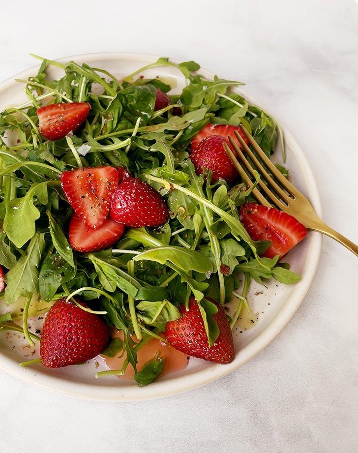 summer salad recipes strawberry and arugula salad recipe