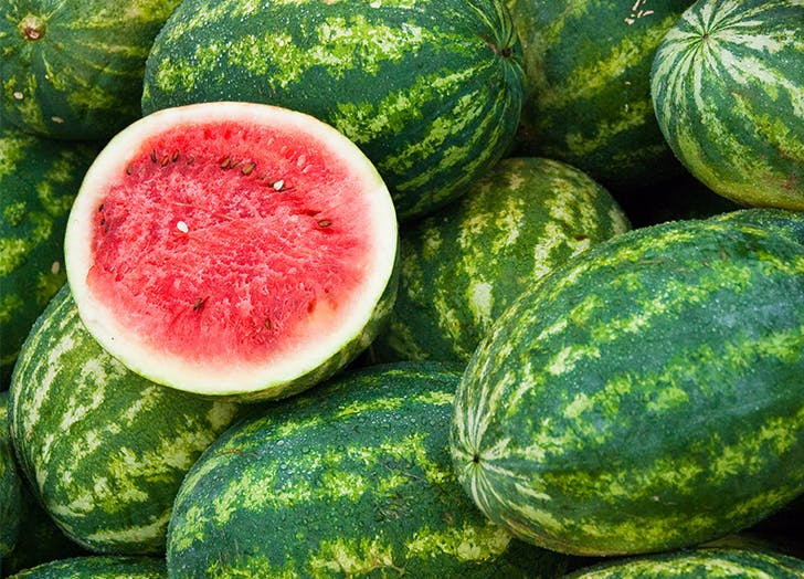 types of melons watermelon