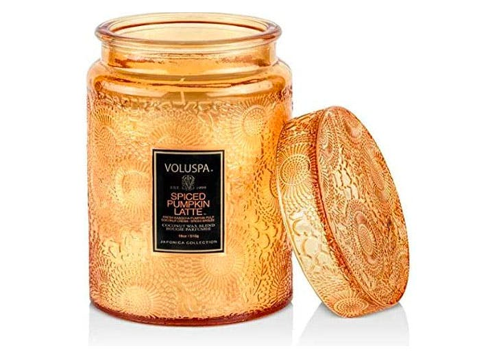voluspa pumpkin candle