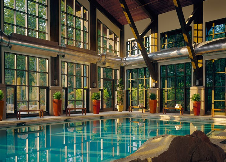 Cozy Winter Getaways from NYC THE LODGE AT WOODLOCH IN HAWLEY