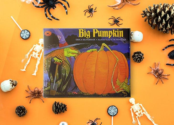 Halloween Books for Kids  Big Pumpkin  by Erica Silverman