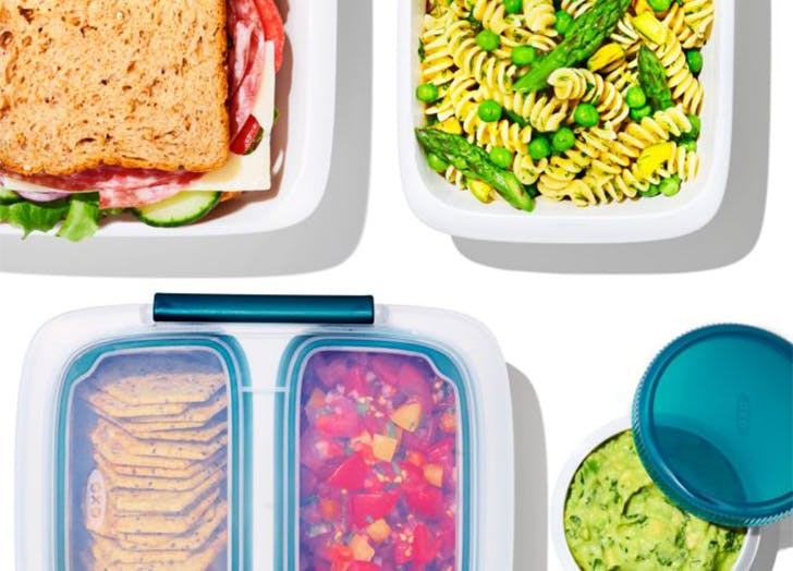 OXO Just Dropped New Prep & Go Food Containers & They Make Life So Much Easier
