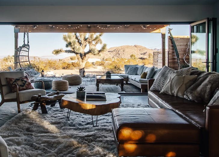 Romantic Cabin Getaways The Oasis in Joshua Tree  California