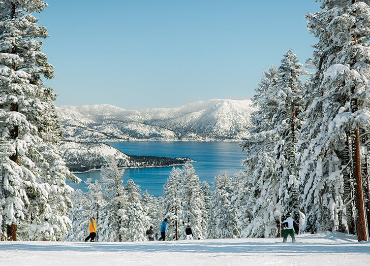 Romantic Winter Weekend Getaways in the U.S. TRUCKEE  CALIFORNIA