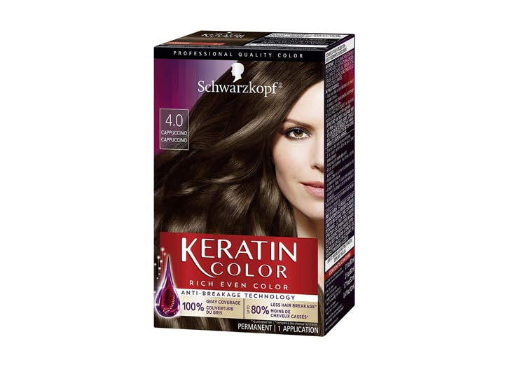 best at home hair color Schwarzkopf Keratin Color Permanent Hair Color