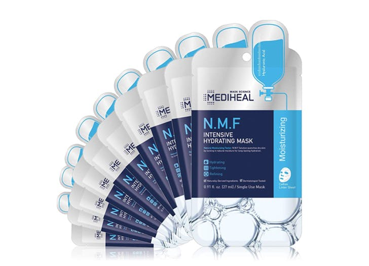 best selling korean beauty products amazon MEDIHEAL N.M.F Intensive Hydrating Mask