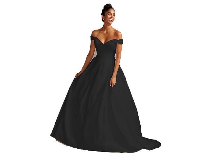 black wedding dress 1